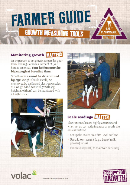 Nutrition: Farmers guide - Growth Measuring Tools